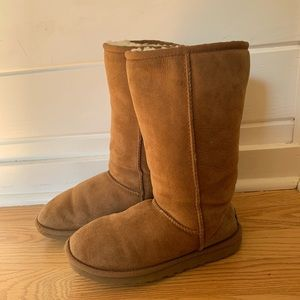 UGG Classic Tall Chestnut Boots 5